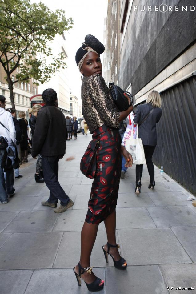 London fashion week Street Style 2010