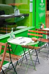 La Table Verte, restaurant bio de l'Épicerie Verte