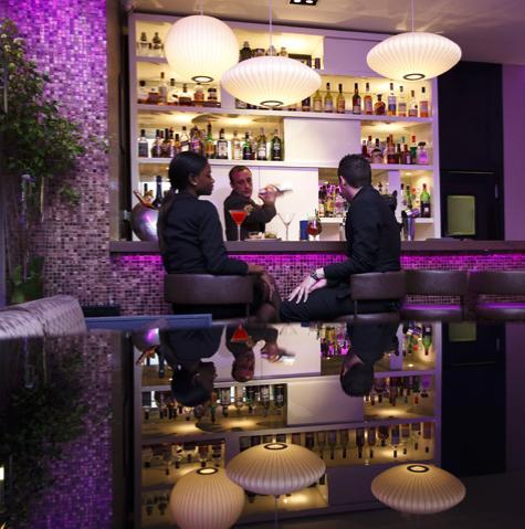 Bar lounge de l'hôtel Bel-Ami