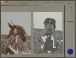 Femme malgache en deuil (fin XIXe sièvle)