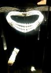 Collier et bracelet trois rangs de perles fines monture or blanc que portait Grace de Monaco