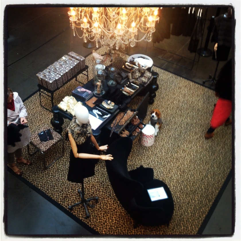 Exposition Audrey Hepburn au concept store Merci