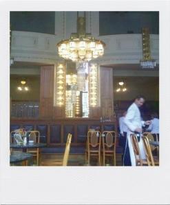 Kavárna, café Art Nouveau de la Maison municipale de Prague