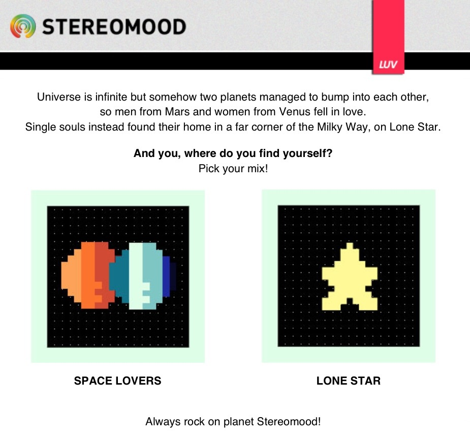 Stereomood space invaders