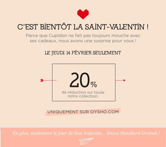 E-mailing Saint Valentin Oysho