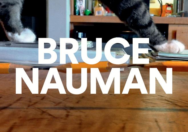 Bruce Nauman à la Fondation Cartier
