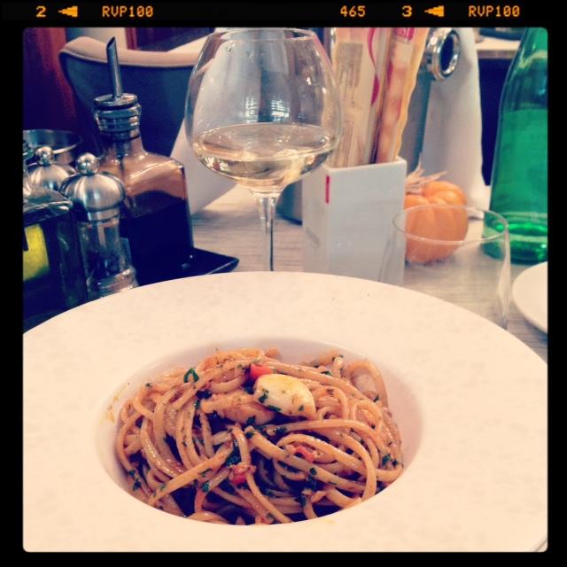 Linguine aglio, olio & peperoncino