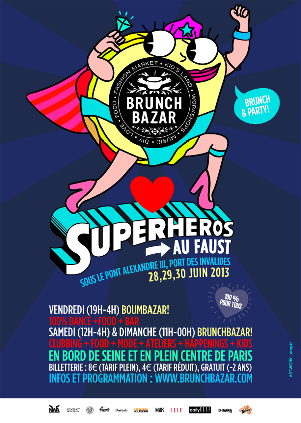 Brunch Bazar au Faust