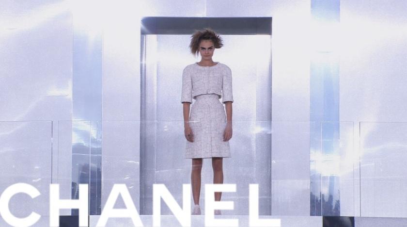 Défilé Chanel haute couture printemps été 2014
