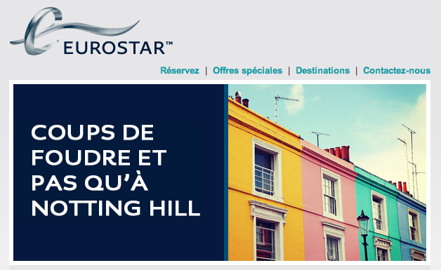 Eurostar Notting Hill