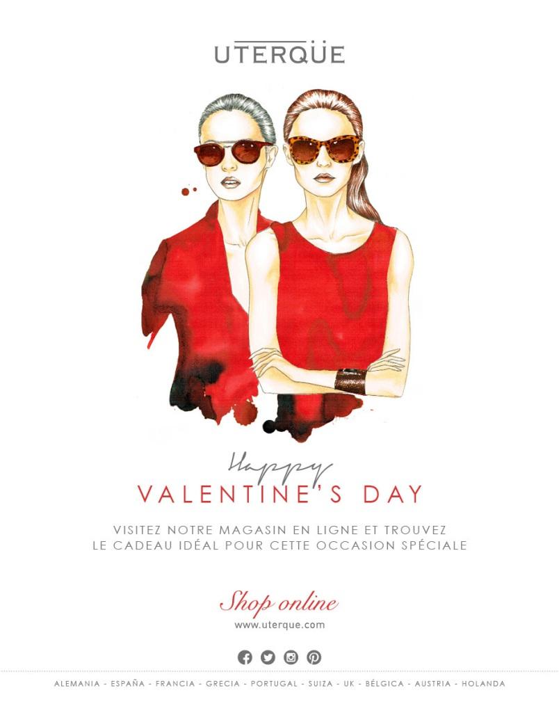 Saint Valentin élégante selon Uterqüe printemps 2014