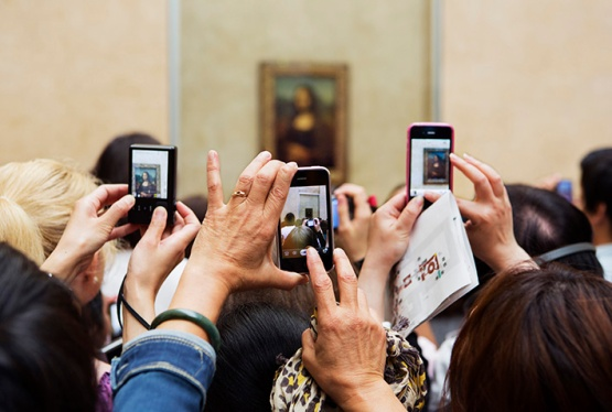 Martin Parr The Louvre