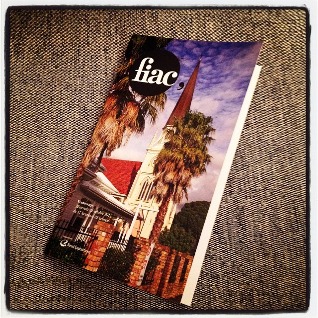 Invitation FIAC 2014