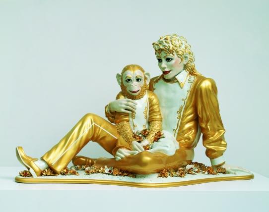 Michael Jackson et Bubbles