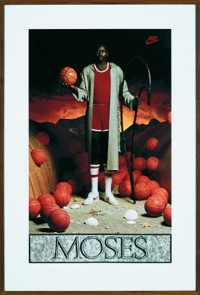 Moses, 1985 Photo : Douglas M. Parker Studios, Los Angeles The Sonnabend Collection et Le Sonnabend Estate © Jeff Koons
