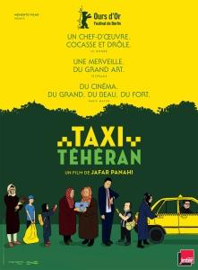 Affiche film Taxi Téhéran