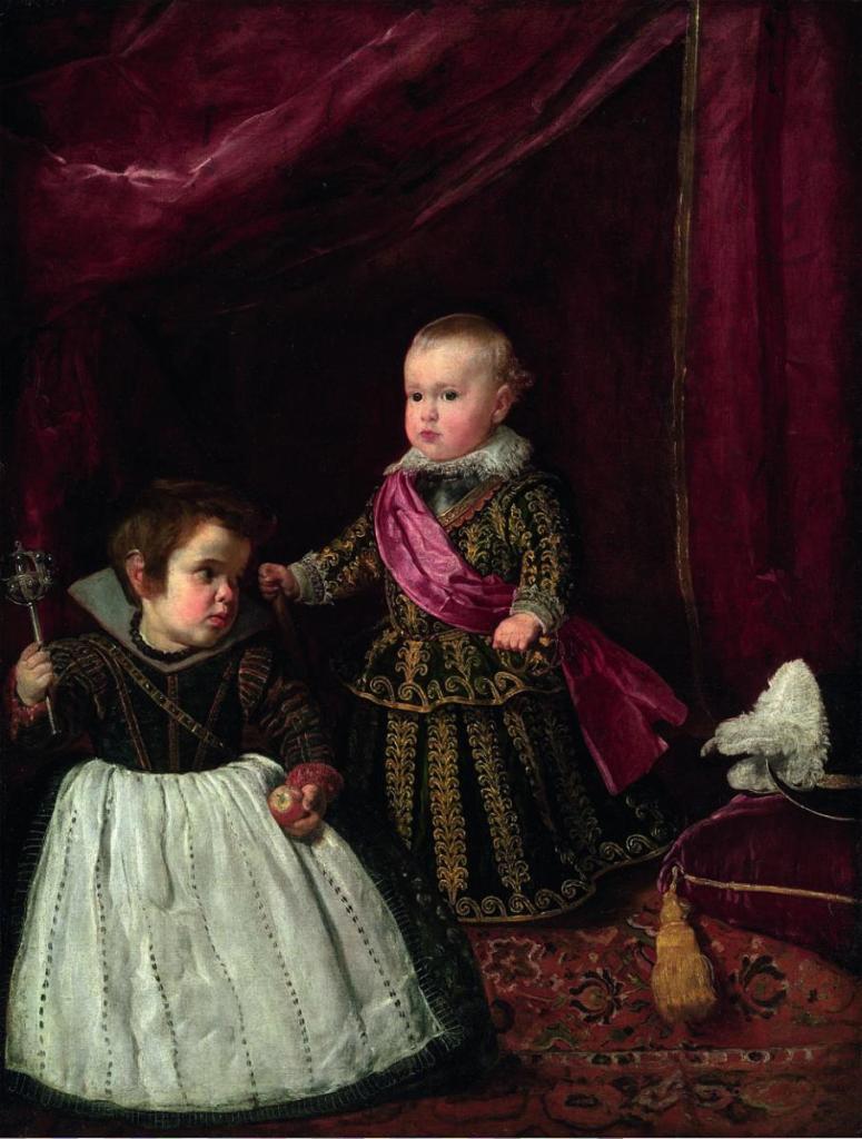 Balthasar Carlos et son nain
