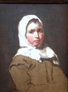 Velazquez, Jeune paysanne (La Contadina),
