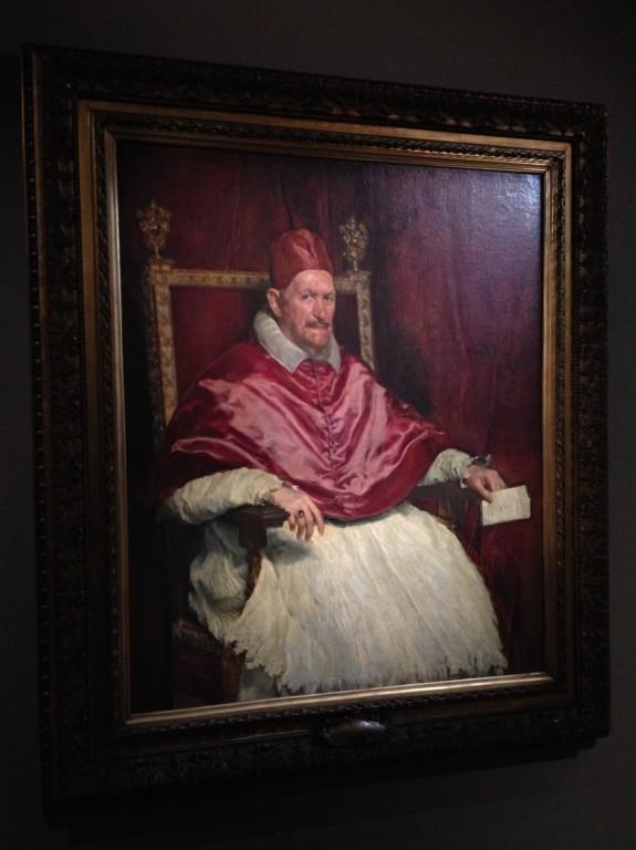 Velazquez, Portrait du pape Innocent X