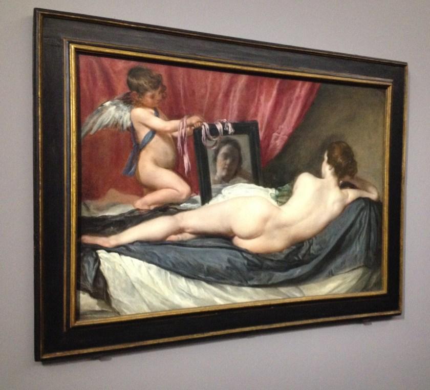 La toilette de Vénus ou Vénus au miroir, Diego Velázquez