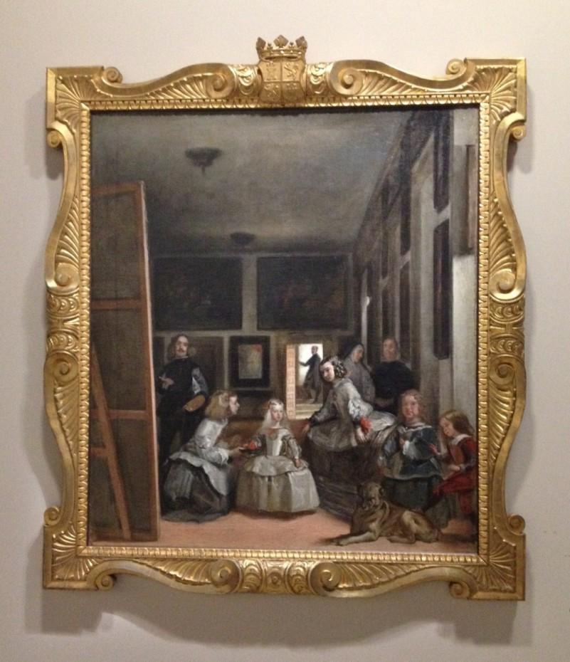 Copie d'après Les Ménines de Velázquez, Juan Bautista Martínez del Mazo
