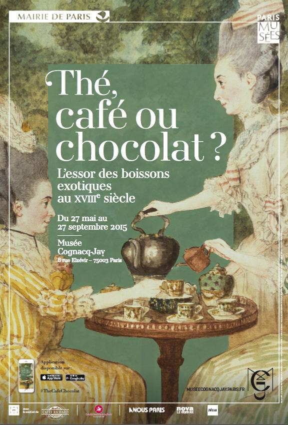 Thé, café ou chocolat ? L'essor des boissons exotiques au XVIIIe siècle au Musée Cognacq-Jay