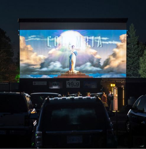 cinéma plein air - drive-in movie