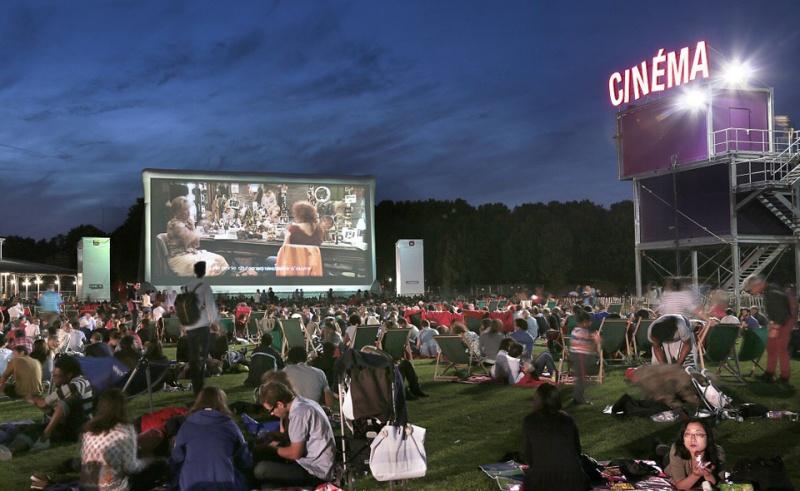 Villette cinéma en plein air 2015