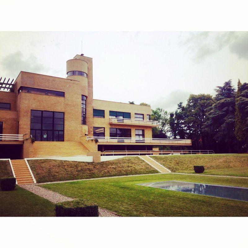 La villa Cavrois vue du jardin