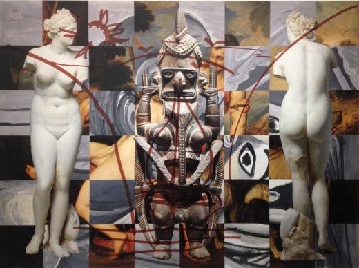 Jeff Koons, Antiquity (ULI), 2011