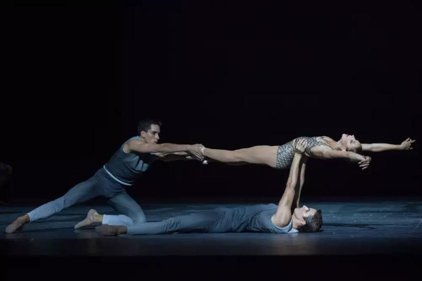 Clear, Loud, Bright, Forward ballet by Benjamin Millepied