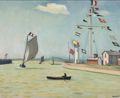 Albert Marquet, Honfleur (1911) Musée d'Etat des Beaux-Arts Pouchkine, Moscou Collection Sergueï Chtchoukine © Adagp, Paris 2016