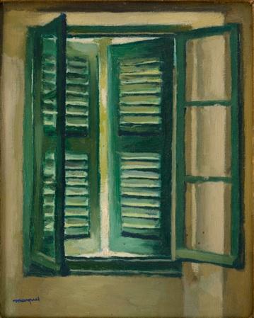 Albert Marquet, Persienne verte