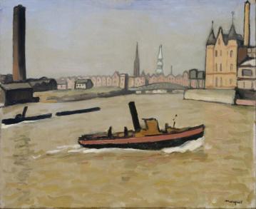 Albert Marquet, Port de Hambourg