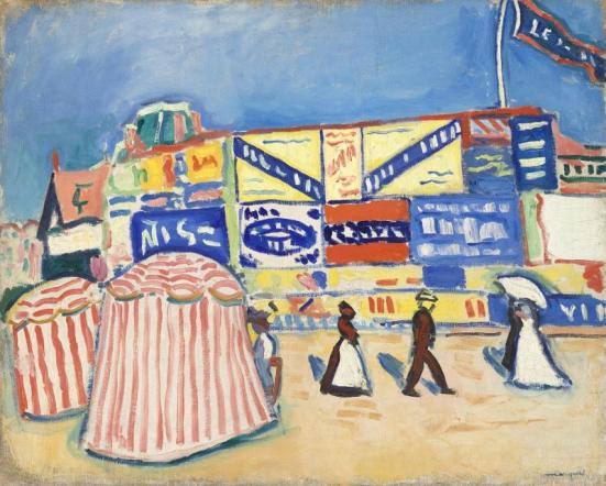 Albert Marquet, Affiches à Trouville