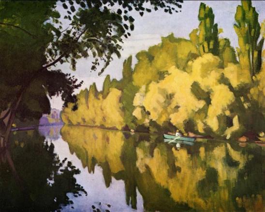 Albert Marquet, Vue d'une rivière