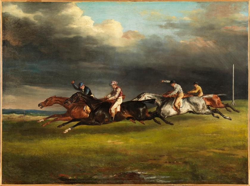 Géricault, Course de chevaux