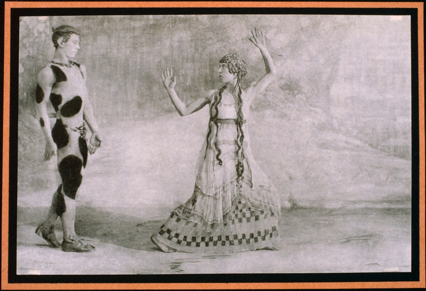 Nijinski et une danseuse
