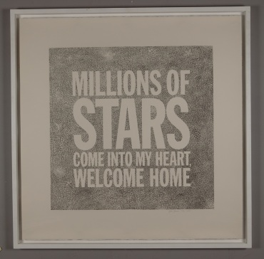 John Giorno A million of stars come into my heart