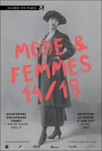 Mode femmes 14/18 à la bibliothèque Forney