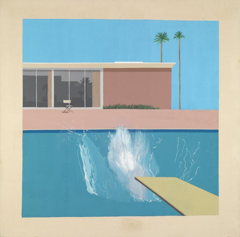 A Bigger Splash David Hockney