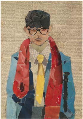 David Hockney Autoportrait