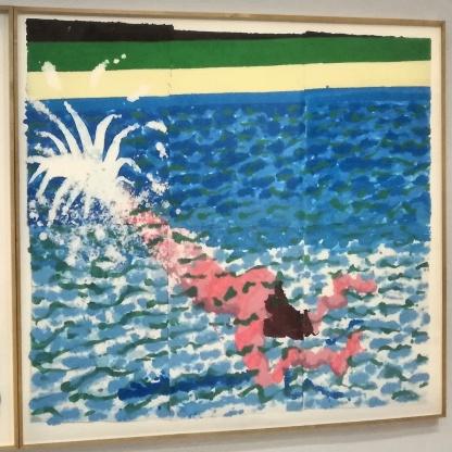 David Hockney Paper Pool