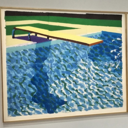 David Hockney, Paper pool