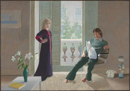 David Hockney Mr and Mrs Clark and Percy