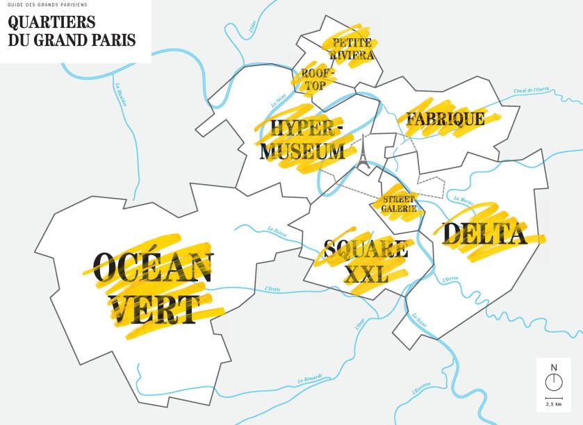Quartiers du Grand Paris © Magasins généraux