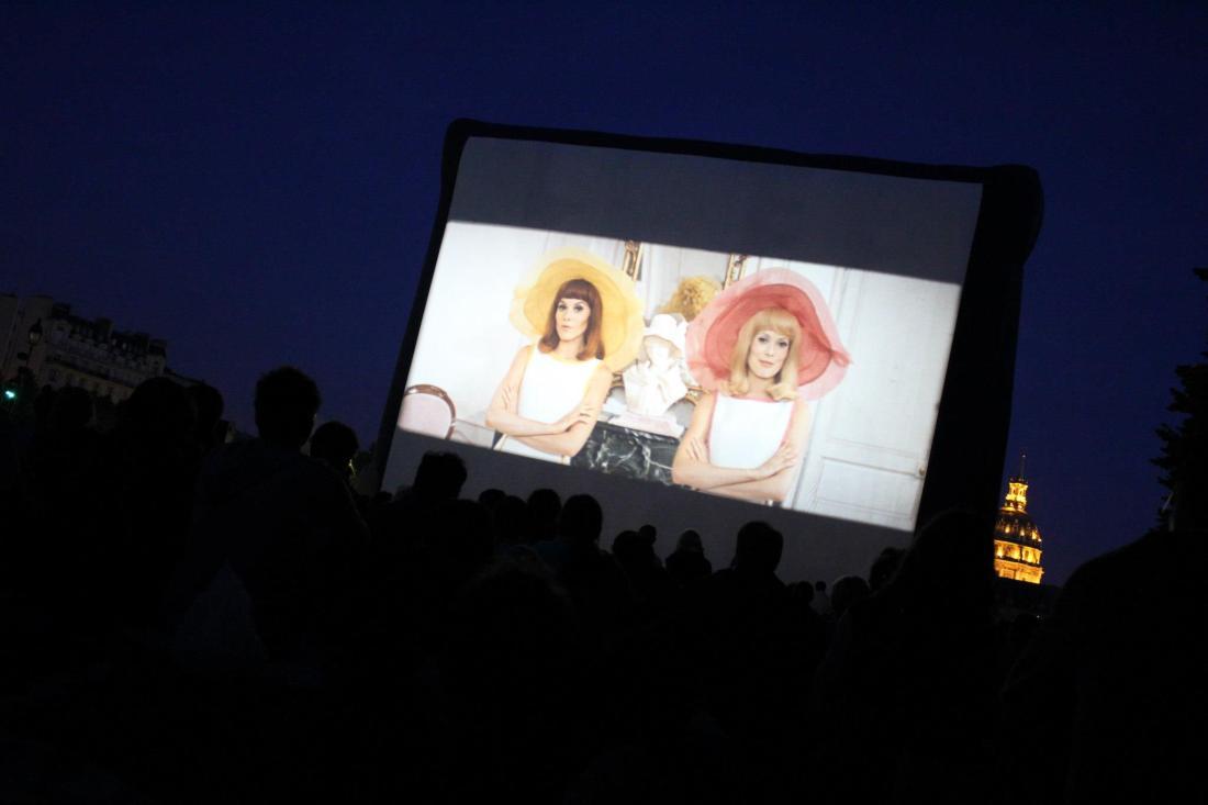 Cinema plein air Jacques Demy